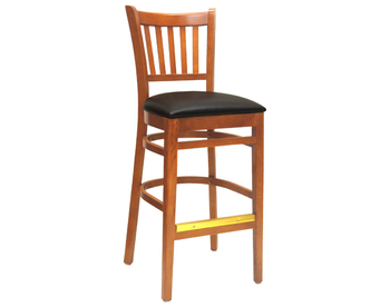 1827 Wood Barstool