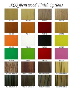 ACQ Bentwood Finish Options