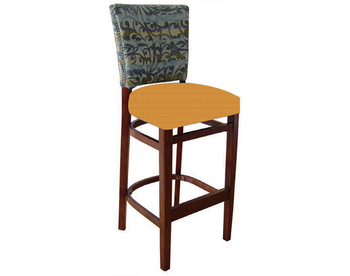 1482 Wood Barstool