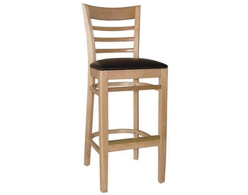 1445 Wood Barstool