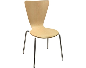 229-LM01 Chrome Bentwood Chair