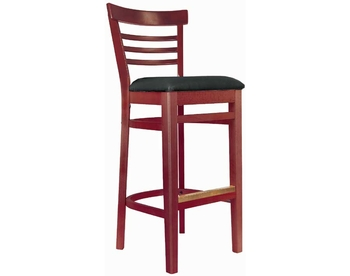 1812 Wood Barstool