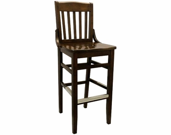 1815 Wood Barstool