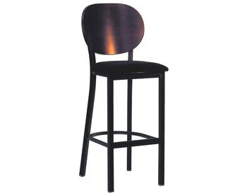 1708B-PB Metal Barstool