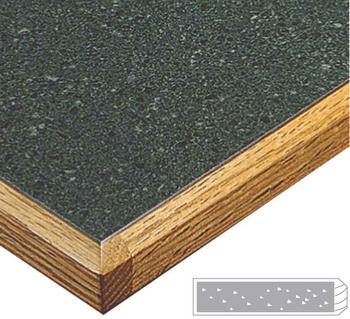 LW6501B Wood Edge Top