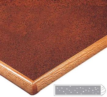 LW6600B Wood Edge Top