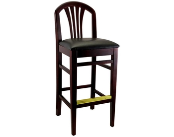 1810 Wood Barstool