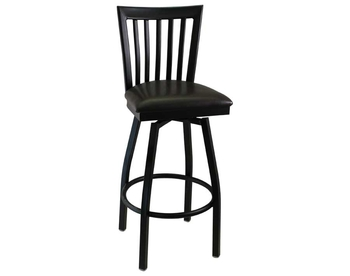 1717SW Metal Swivel Barstool