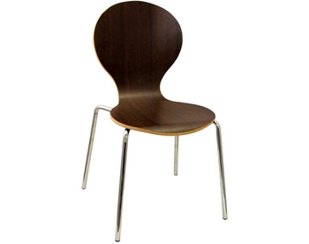 227-LM07 Chrome Bentwood Chair
