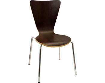 229-LM07 Chrome Bentwood Chair