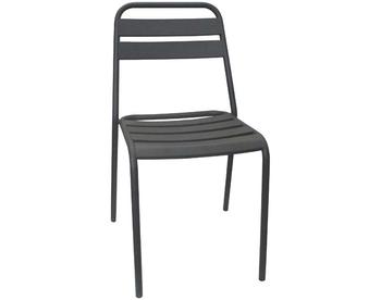 006-Dark Grey Steel Chair