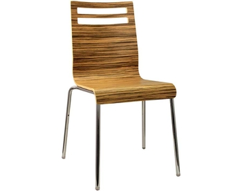 200-WZ37 Chrome Bentwood Chair