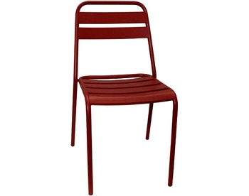 006-RED Steel Chair