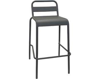 1006-Dark Grey Steel Barstool